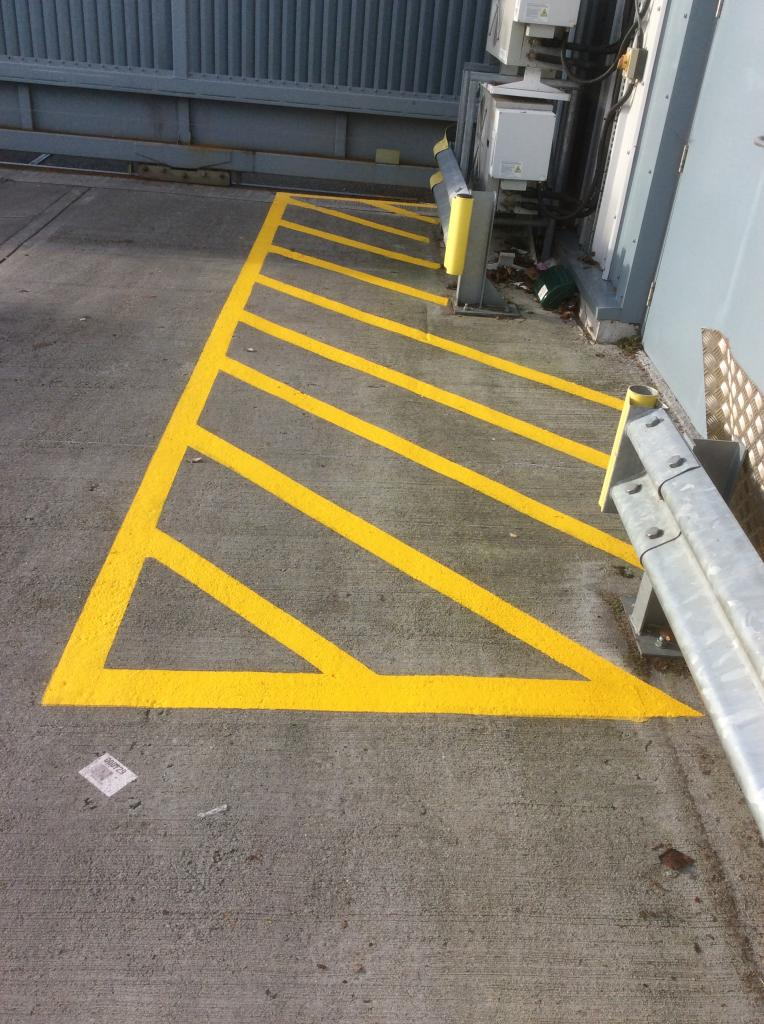Car Paint Job >> Loading bay marking in Somerset . Line Marking Services ...