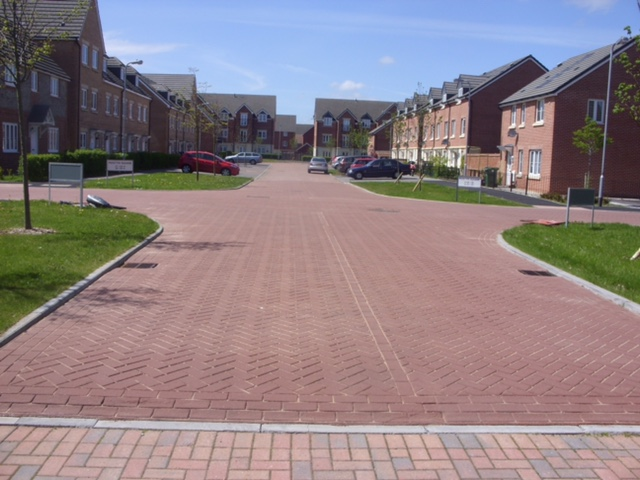 Imprint surfacing recent work photo from Line Marking Services - 01626 331771